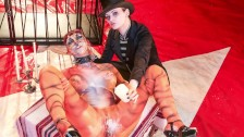 FORBONDAGE – German Lezdom Mistress In Kinky Bondage Sex (First Time)
